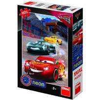Dino Puzzle Cars 3 Neon - 100XL