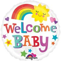Balon Welcome Baby