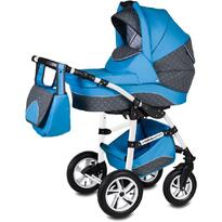 Vessanti Carucior Flamingo Easy Drive 3 in 1  - Blue