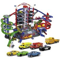 Pista de masini Majorette Super City Garage