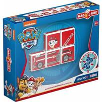Set constructie magnetic Magicube Paw Patrol - Pompierul Marshall