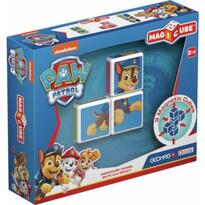 Set constructie magnetic Magicube Paw Patrol - Chase, Skye si Rocky
