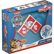 Set constructie magnetic Magicube Paw Patrol - Marshall, Rubble si Zuma