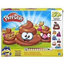 Hasbro Set plastelina Play-Doh, Poop Troop 12 cutii