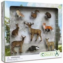 Collecta Set 9 figurine animale de padure