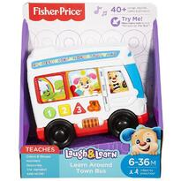 Fisher-Price Autobuzul cu lumini si sunete Laugh&Learn - Fisher Price