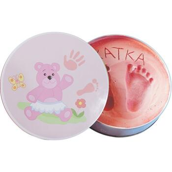 Baby HandPrint - Dream Box Pink