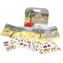 Egmont Toys Animale din jungla, set magnetic