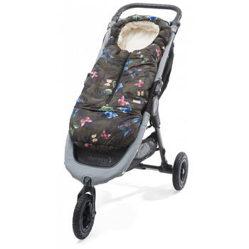 Nuvita Sac de iarna 2 in 1 80/ 105 cm Carry On - Camouflage/ Beige - 9845