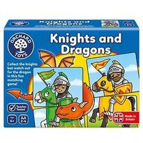 Orchard Toys Joc educativ - puzzle Cavaleri si Dragoni KNIGHTS AND DRAGONS