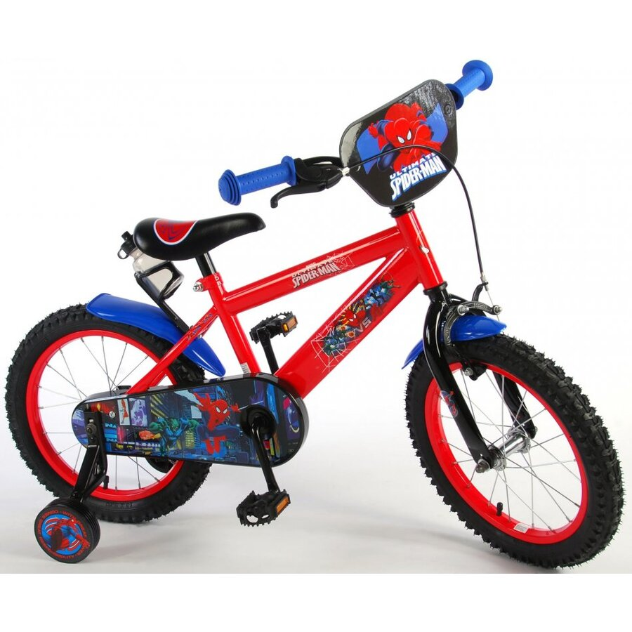 Bicicleta E&L SpiderMan 16 inch