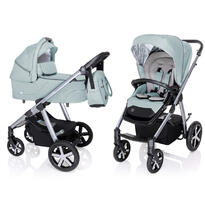Baby Design Carucior multifunctional Husky cu Winter Pack - 05 Turquoise 2020
