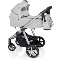 Baby Design Carucior multifunctional Husky cu Winter Pack - 27 Light Gray 2020