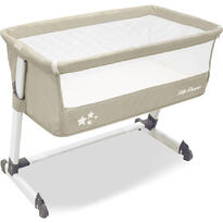 Asalvo Patut co-sleeper Side Crib Beige