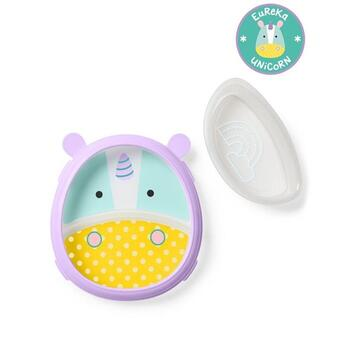 Skip Hop Set Farfurie & Bol Zoo Smart – Unicorn
