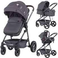 Carucior Chipolino Noah 3 in 1 grey denim