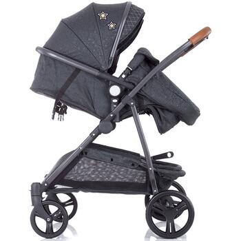Carucior gemeni Chipolino Duo Smart graphite linen