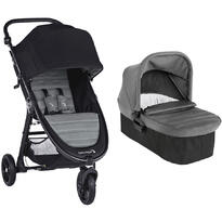 Baby Jogger Carucior City Mini GT2 Slate sistem 2 in 1