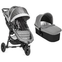 Baby Jogger Carucior City Mini GT Steel Gray Sand sistem 2 in 1