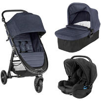 Baby Jogger Carucior City Mini GT2 Carbon sistem 3 in 1
