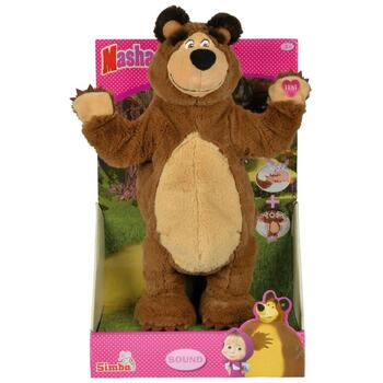 Jucarie de plus interactiva Simba Masha and the Bear, Masha Music Fun