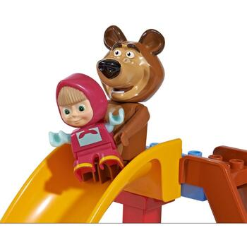 Set constructie Big Masha and the Bear Pool Fun 29 piese