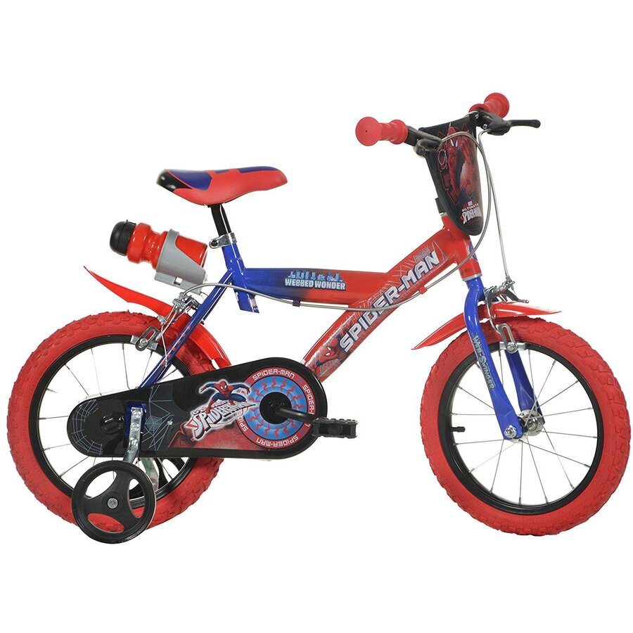 Bicicleta copii 14'' Spiderman