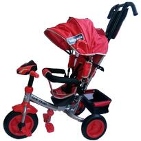 Baby Mix Tricicleta multifunctionala cu sunete si lumini Lux Trike Red