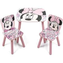 Arditex Set masuta si 2 scaunele Minnie Mouse
