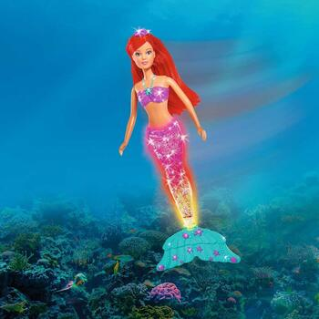 Simba Papusa Steffi Love, Light and Glitter, Mermaid 34 cm