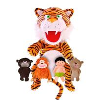 Fiesta Crafts Set Marionete Cartea Junglei