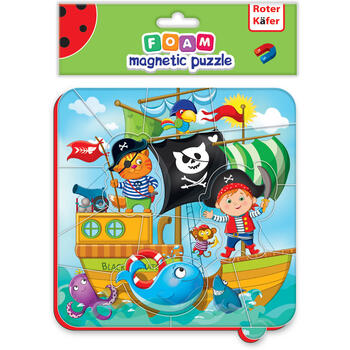 Roter Kafer Puzzle magnetic Pirati