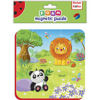 Puzzle magnetic Zoo