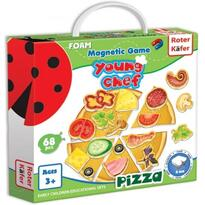 Joc educativ magnetic Pizza