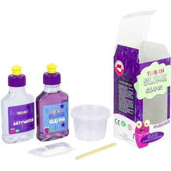 Tuban Slime Set DIY – Fosforescent