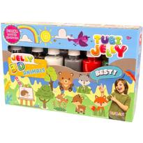 Tuban Set Tubi Jelly cu 6 culori - Animale
