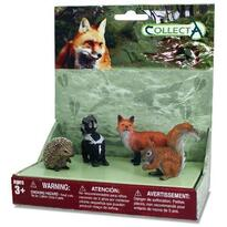 Set 4 figurine Animale din padure - Collecta