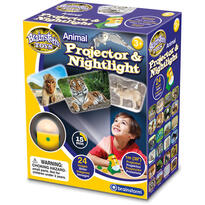 Brainstorm Toys Proiector 2 in 1 - Animalute
