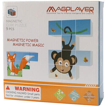 Magplayer Puzzle cubic magnetic - Animalute vesele