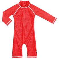 Swimpy Costum de baie Fish Red marime 74-80 protectie UV