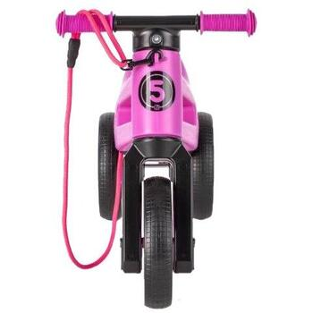 Bicicleta fara pedale Funny Wheels SUPERSPORT 2 in 1 Violet