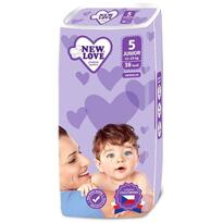 New Love By Caretero Scutece New Love PREMIUM COMFORT 5 Junior 11-25 Kg 38 buc.