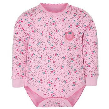 Gmini Body cu maneca lunga Flowers and Kitty 86 cm