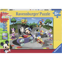 Ravensburger Puzzle Mickey Cu Skateboard, 100 Piese