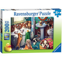 Ravensburger Puzzle Catelusi In Baie, 200 Piese