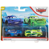 Mattel Cars3 Set 2 Masinute Metalice Spikey Fillups Si Chase Racelott