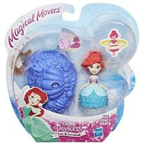 Hasbro Mini figurina Disney Princess Ariel cu suport rotativ