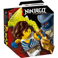 LEGO ® Batalie epica - Jay vs. Serpentine