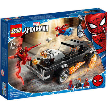 LEGO ® Spider-Man si Ghost Rider vs. Carnage