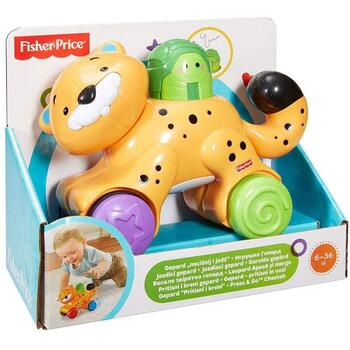 Fisher-Price Jucarie Fisher Price by Mattel Infant Press and Go Tigru